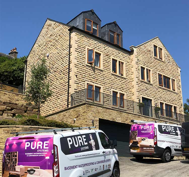 Pure Basement System Association Member From Guisley Leeds