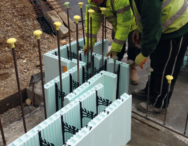 Nudura showcases innovative icf basement construction for Nudura icf cost
