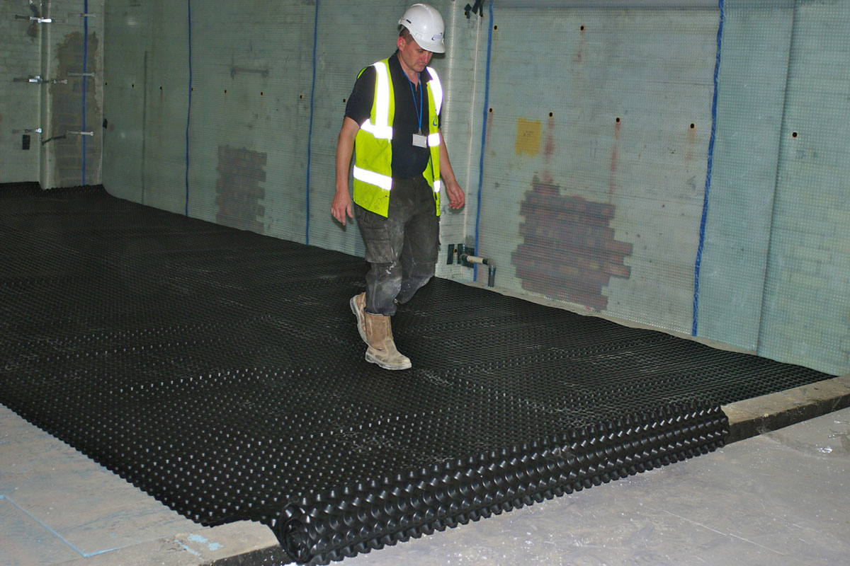 Triton Chemical Manufacturing Basement Waterproofing
