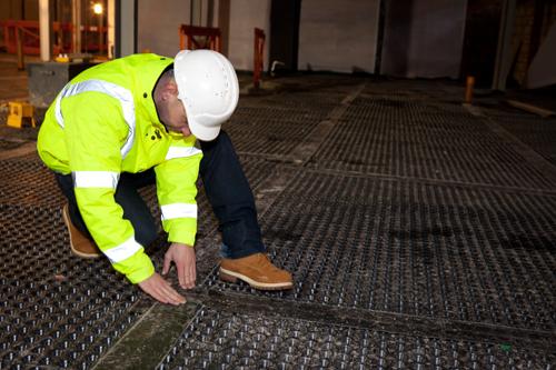 basement waterproofing contractor with flooring